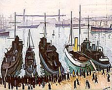 Albert Marquet - Il porto vecchio a Marsiglia