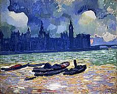André Derain - Il parlamento di notte