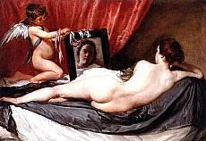 Diego Velzquez - La toilette di Venere