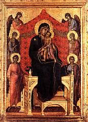 Duccio di Buoninsegna - Maestà