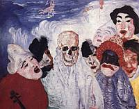 James Ensor - The Masks and Death