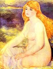 Blonde nude - Opera di Renoir