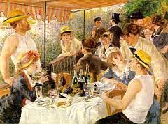 La colazione dei canottieri Opera di Renoir