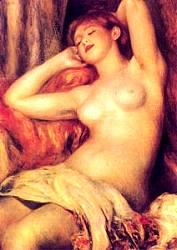La dormiente - Opera di Renoir