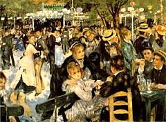 Moulin Galette - Opera di Renoir
