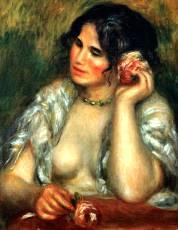 Gabrielle e la rose - Opera di Renoir