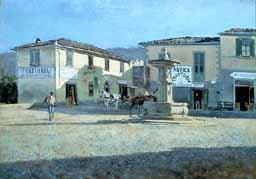 La piazza di Settignano