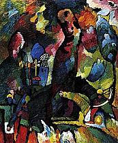 Wassily Kandinskij - Quadro con arciere