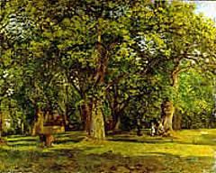 Camille Pissarro - La foresta