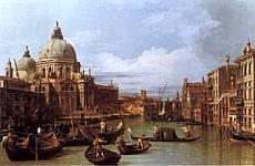 Canaletto - L'ingresso del Canal Grande