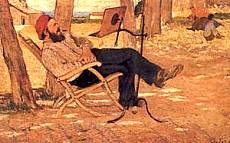 Diego Martelli a Castiglioncello