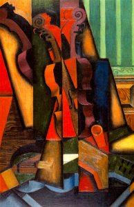 Juan Gris - Chitarra e violino