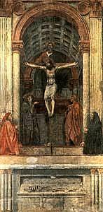 Masaccio - La Trinità