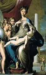 Parmigianino (Francesco Mazzola) - Madonna dal collo lungo