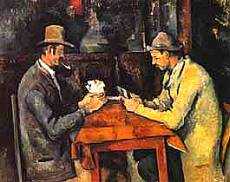 Paul Cezanne - Giocatori di carte