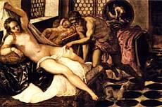 Tintoretto (jacopo Robusti) - Venere, vulcano e Marte