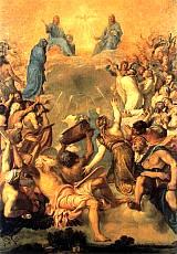 Tiziano Vecellio - Adorazione della Trinità